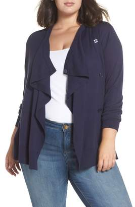 Sejour Button-Up Waterfall Cardigan