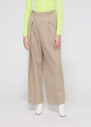 Maison Margiela Diagonal Zip Trouser