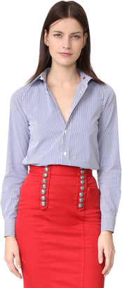 DSQUARED2 Button Down Collared Shirt $385 thestylecure.com