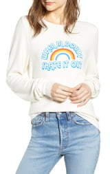 Wildfox Couture Baggy Beach Jumper - Skate it Out Pullover