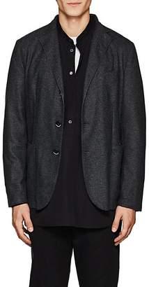 Barena Venezia Men's Fine-Gauge Knit Three-Button Sportcoat