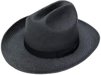 Neighborhood straw trilby hat