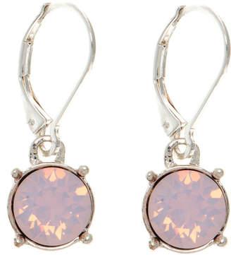 Gloria Vanderbilt Pink Circle Drop Earrings