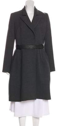 Dice Kayek Knee-Length Wool Coat