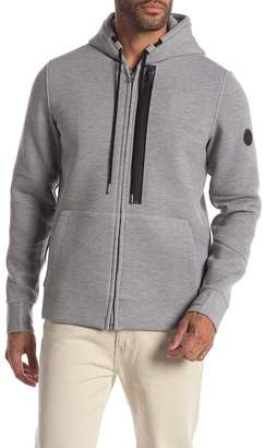 William Rast Miller Bonded Zip-Up Hoodie