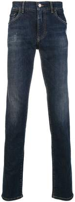 Dolce & Gabbana washed slim jeans