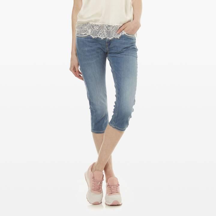 Poly - Jeans skinny - jeansblau