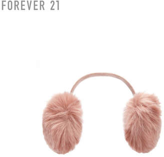 Forever 21 (フォーエバー 21) - Forever 21 フェイクファーイヤーマフラー
