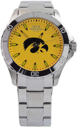 Jack Mason Men's Iowa Hawkeyes Color Sport Bracelet Watch