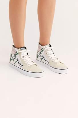 0773b1cbbb9c Vans Sk8-Hi Checkered Floral Sneaker