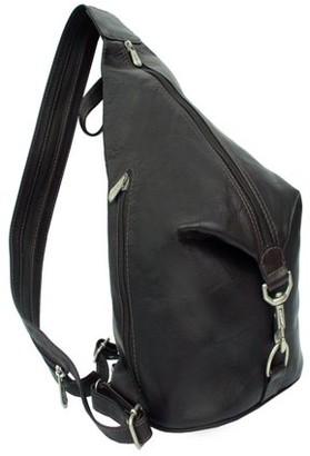 Piel Leather THREE-ZIP HOBO SLING