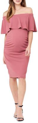 Soiree Off Shoulder Dress