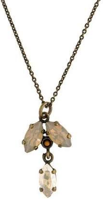 Isabel Marant Crystal Pendant Necklace