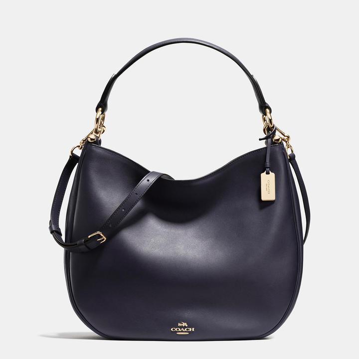 COACH Coach Nomad Hobo In Glovetanned Leather