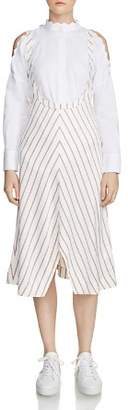 Maje Rabano Striped Dress