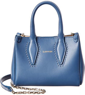 Lanvin Journee Micro Leather Shoulder Bag