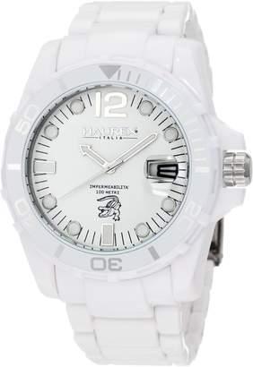 Haurex Italy Men's Caimano Date Dial Plastic Sport Watch W7354UWW