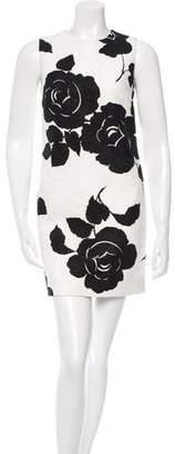 Dolce & Gabbana Floral Jacquard Dress