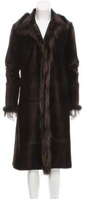 J. Mendel Sheared Mink Fur Coat