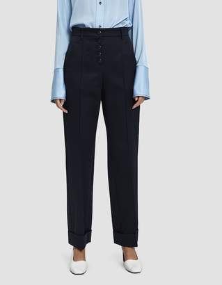A.P.C. Georgianna Pant in Dark Navy