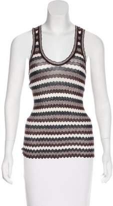 Etoile Isabel Marant Striped Cotton Sleeveless Top