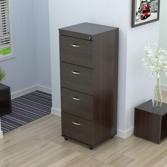 Ebern Designs Bayswater 4 Drawer Vertical File Ebern Designs