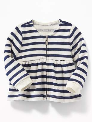 Old Navy Striped Peplum Jacket for Baby