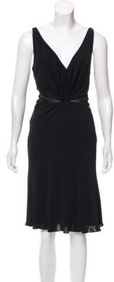 Versace Sleeveless Midi Dress w/ Tags
