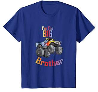 Big Brother Monster Truck Colorful Shirt for Big Brothers