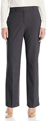 Napa Valley Women's Short Slash Pocket Straight Leg Trouser Length