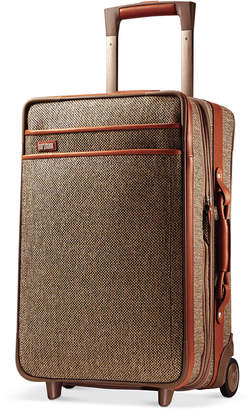 """Hartmann Tweed Collection 21"""" Carry On Expandable Rolling Suitcase"""