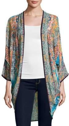 Tolani Shara Easy Printed Wrap Jacket $175 thestylecure.com