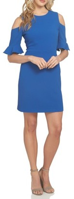 Women's Cece Emily Cold Shoulder Sheath Dress $128 thestylecure.com