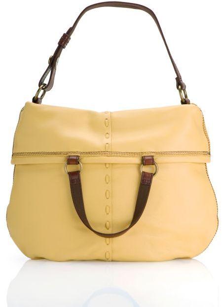 Bandit Leather Foldover Bag