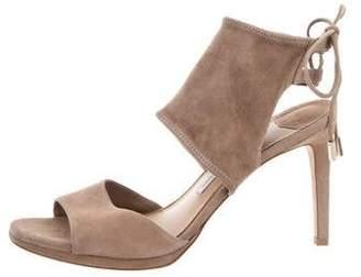 Diane von Furstenberg Suede High-Heel Sandals