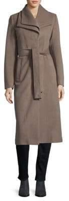 T Tahari Knee-Length Wrap Coat
