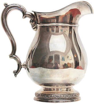 One Kings Lane Vintage Sterling Silver Water Pitcher - Rare and Worthy