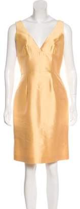 Prada Silk & Wool-Blend Dress