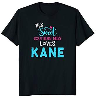 Sweet This Southern Mess Loves Kane T-Shirt