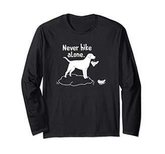 Trekking Outfit Never Hike Alone Long Sleeve Shirt
