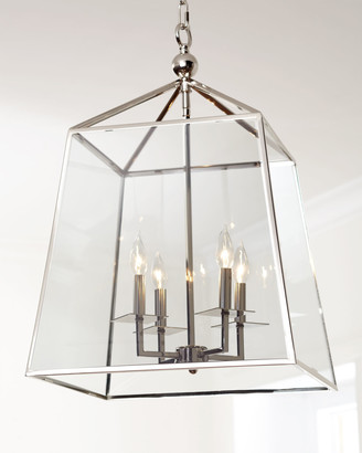 Regina-Andrew Design Regina Andrew Design Square 4-Light Glass Lantern