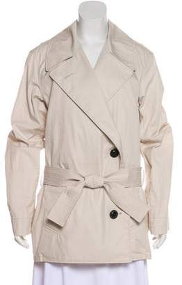 Lemaire Belted Short Trench Coat