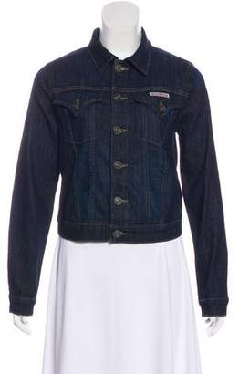 Hudson Denim Cropped Jacket