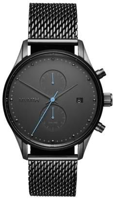 MVMT Cascade Mesh Strap Watch, 42mm