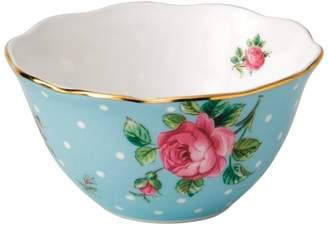 Royal Albert Polka Blue Ice Cream Bowl