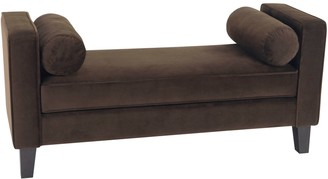 Office Star Products Avenue Six Curves Bench