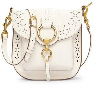 Frye Ilana Perforated Leather Saddle Bag