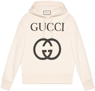 Gucci Guccify cotton sweatshirt with dragons