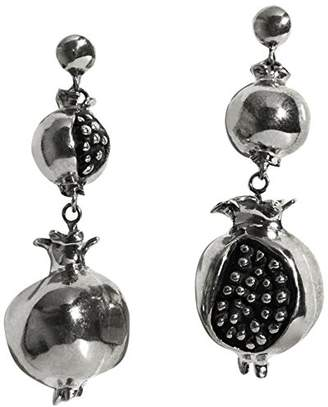 Pamela Love Women 925 Silver Carnelian Dangle and Drop Earrings PLSS18E03-S-CAR HIiQK0gR8