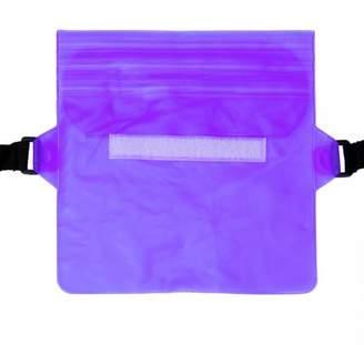 Unbranded New Sport Swimming Beach Waterproof Waist Pack Belt Holder Dry Bum Bag Pouch & Strap